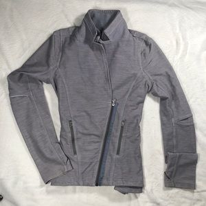AMAZING Lululemon grey jacket size 10 rare
